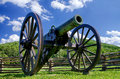 Civil War era cannon at Kennesaw Mountain National Battlefield Park Royalty Free Stock Photo