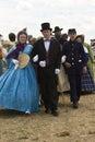 Civil War Wedding Royalty Free Stock Photo
