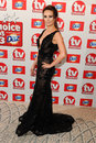 Claire cooper arriving at the tv choice awards held at the dorchester london picture by steve vas featureflash Stock Photo