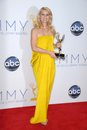 Claire danes clair danes at the primetime emmy awards press room nokia theater los angeles ca Stock Image