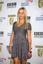Claire holt arriving at the bafta tv tea party royce hall ucla century city ca september Royalty Free Stock Image