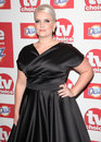 Claire richards arriving for the tvchoice awards at the dorchester hotel london picture by alexandra glen featureflash Royalty Free Stock Photos