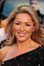 Claire sweeney arrives for the premiere of the at the vue cinema leicester square london picture by simon burchell Stock Photo