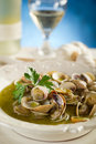 Clam soup Stock Photos