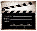 Clapboard Royalty Free Stock Photos