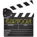 Clapper Board Cartoon