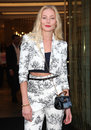 Clara paget arriving for the vogue s fashion night out mulberry party at mulberry london picture by alexandra glen featureflash Stock Photo