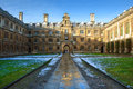 Clare College, Cambridge University, England Stock Photography