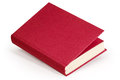 Claret blank book clipping path horizontal hardcover with Stock Photo