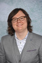 Clark duke los angeles ca february at the los angeles premiere of his movie hot tub time machine at the regency village theatre Royalty Free Stock Photography