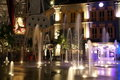 Clarke Quay Night Fountains
