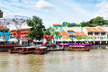 Clarke quay is a popular tourist attraction in singapore photo taken december in singapore Stock Photo