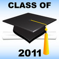 Class of 2011 Royalty Free Stock Photo