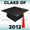 Class of 2012 Royalty Free Stock Photo