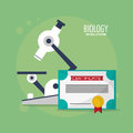 Class biology microscope certificate