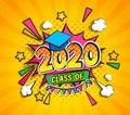 Class of 2020, graduation banner.