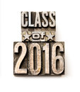 Class of 2016 Royalty Free Stock Photo