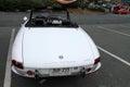 Classic alfa romeo sports car rear Royalty Free Stock Photo