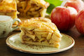 Classic American apple pie Royalty Free Stock Photo