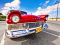 Classic american car in Havana Stock Photos