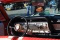 Classic american car interior Royalty Free Stock Photo