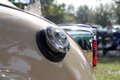 Classic American car rear detail Royalty Free Stock Photo