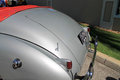 Classic american car rear detail 2 Royalty Free Stock Photo