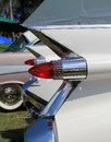 Classic american car tail lamps Royalty Free Stock Photo