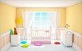 Classic baby room beige