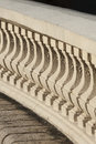 Classic bannister close up detail with depth of field of Stock Photos
