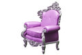 Classic Baroque armchair Stock Photo