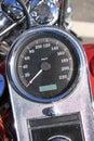 Classic Bike Speedometer Royalty Free Stock Photo