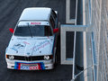 Classic bmw race car photographed during histocup event at slovakia ring on august Stock Image