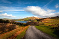 Classic british landscape at the peak district near manchester Royalty Free Stock Photography