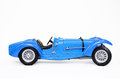 Classic bugatti sports car picture of an old isolated with a white background Stock Photos