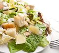 Classic Caesar Salad Royalty Free Stock Photo
