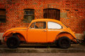Classic car-beetle Royalty Free Stock Photo