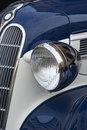 Classic car close up detail of vintage Royalty Free Stock Photography