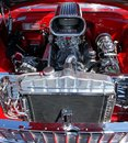 Classic car engine Royalty Free Stock Photo