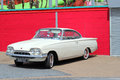 Classic car ford consul capri a – a collectors this was parked outside a cafe in great yarmouth united kingdom Stock Images