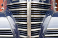 Classic car front grill Royalty Free Stock Photo