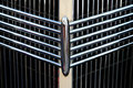 Classic car grill Royalty Free Stock Photo