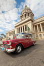 Classic car in Havana Royalty Free Stock Image