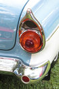 Classic car headlight close up of Royalty Free Stock Image