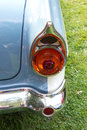 Classic car headlight close up of Royalty Free Stock Images