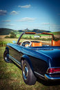 Classic car post war y o m Royalty Free Stock Photo
