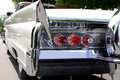 Classic car rear end Royalty Free Stock Photo
