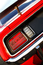 Classic Car Tail Light Royalty Free Stock Photo