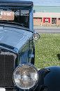 Classic cars on display during car show Royalty Free Stock Photo