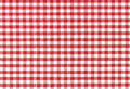 Classic checkered tablecloth texture Royalty Free Stock Photo